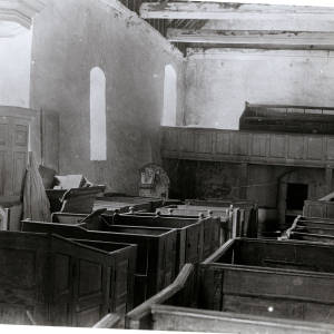 St Clydawg's Church, Cloddock interior
