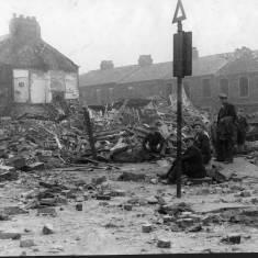 Bomb Damage on Claypath Lane and Percy Street
