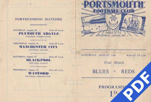 19490813 Trial Match