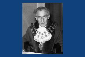 Alderman, Tom L. Ruff, Mayor of Mitcham (1961- 1962)