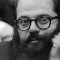 Allen Ginsberg in close-up