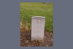 Gravestone of Private Frederick Monk
