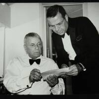 Frank Sinatra and Frank Sinatra Jr (left to right)
