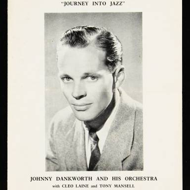 Johnny Dankworth and His Orchestra with Cleo Laine and Tony Mansell, City Hall, Newcastle upon Tyne - December 7th 1956 001