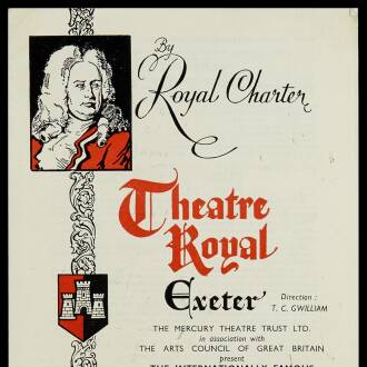 Theatre Royal, Exeter, May 1960