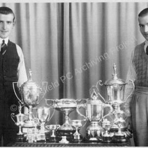Bert & Ernest Almond, Winners in 1937.