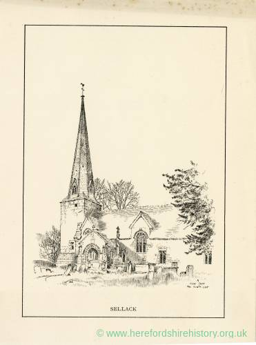 St Tysilio's Church, Sellack