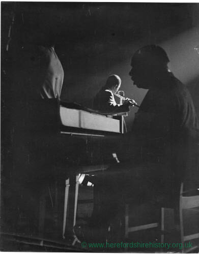 208 - Count Basie playing piano