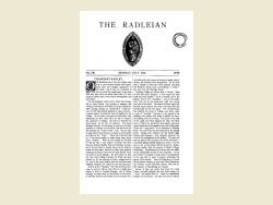 The Radleian 1939 - No. 581 July