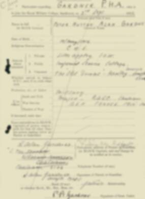 RMC Form 18A Personal Detail Sheets Feb & Sept 1933 Intake - page 48