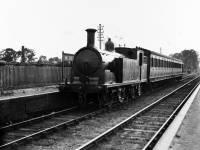 Merton Abbey Station:  Looking towards Merton Park