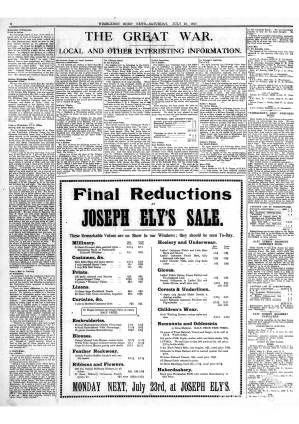 21 JULY 1917