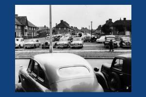 St. Helier Estate, Morden: Parked Cars