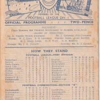 19480825 Official Programme Everton Home