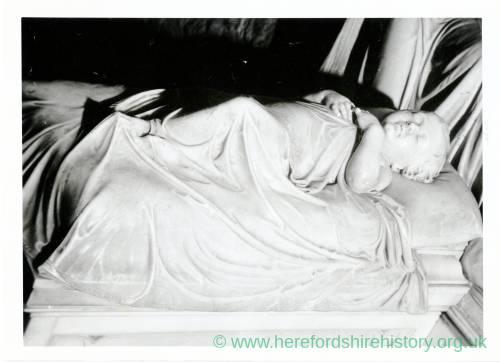 Tomb of John Hamilton Martin, Ledbury Church, Herefordshire