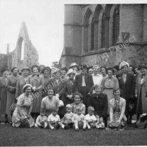 Grenoside Mothers Union Outing to Southwell Minster c 1949