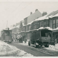Snow Clearing Tram