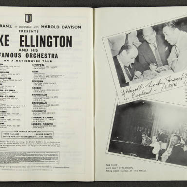 Duke Ellington Orchestra British Tour – October 1958 010