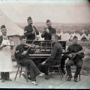 Military concert party