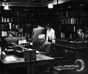 Mitcham Public Library: staff