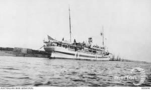 Photo of the Hospital Ship - HMT Assaye