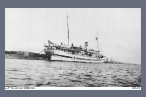 Photo of the Hospital Ship - HMT Assaye