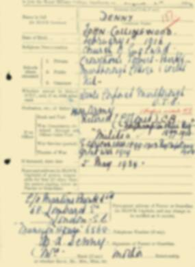 RMC Form 18A Personal Detail Sheets Aug 1934 Intake - page 53