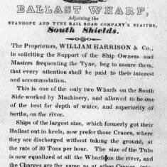William Harrison & Co, Ballast Wharf