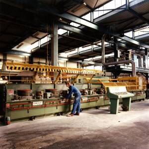 A large machine being operated at Wiggins in Hereford.
