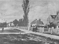 Church Road, Mitcham: Timber yard