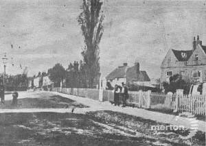 Church Road, Mitcham: Timber yard