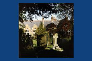 Churchyard at St. Mary's, Merton Park