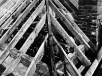 St. Helier Estate, Morden, roof construction