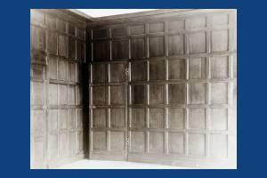 Oak panelling, Cannizaro House, Wimbledon