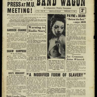 Vol.1 No.19 17 February 1940