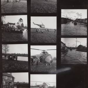 Contact Sheet: SAS rescue at Hampton Bishop.