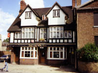 The  Crown Inn, London Road, Mitcham. Courage Brewery