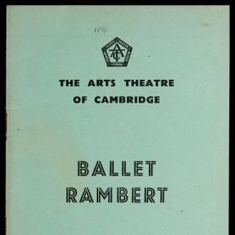 Arts Theatre of Cambridge, April–May 1940