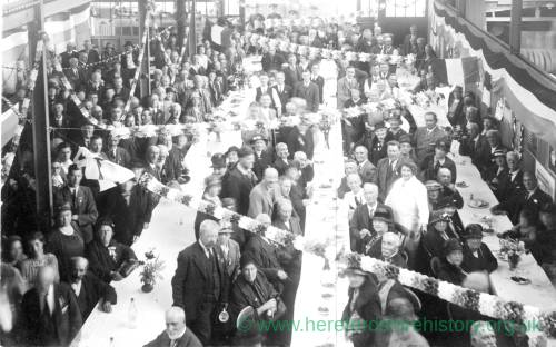 Celebration of the Silver Jubilee of King George V and Queen Mary, Ross-on-Wye, 1935
