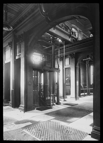 Western pumping station beam engines