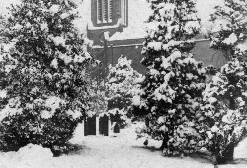 007 The vicar's personal Christmas card, 1916