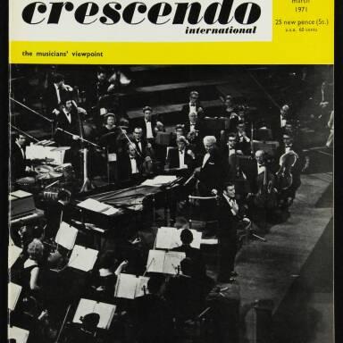 Crescendo 1971 March