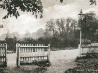 Lower Morden Lane: The White Gates