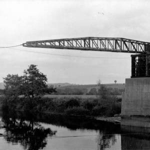 Wilton - Ross bypass bridge, 1964