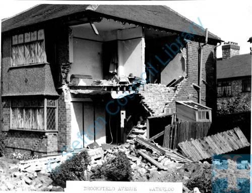 Brookfield Avenue, Waterloo, 1940