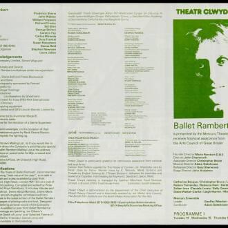 Theatr Clwyd, Mold, February 1978