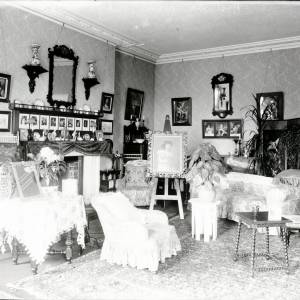 Westhill House, drawing room interior