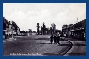 Green Lane, Morden: St Helier Station