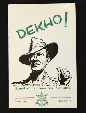 DEKHO! The Journal of The Burma Star Association - Issue No. 036, Year 1963