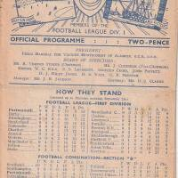 19480925 Official Programme Sheffield United Home